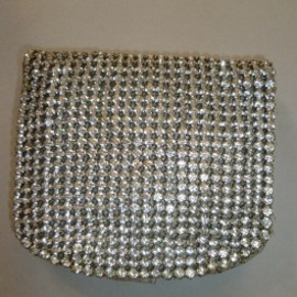 Purse with strass