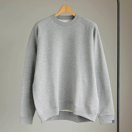 Graphpaper - Raglan Sweat [GP×LOOPWHEELER] #h.gray