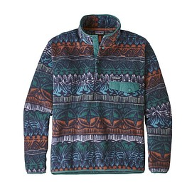 patagonia - M's Lightweight Synchilla® Snap-T® Pullover, Tradewinds Big: Stone Blue (TBST)