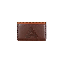 Palace Skateboards - CARD HOLDER DARK BROWN / TAN