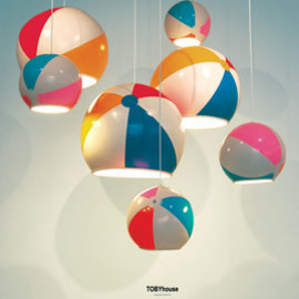 TOBYhouse - Beach Ball Lamp Shade