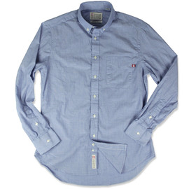 S/Double, Gitman Bros. - End on End Shirts - Blue