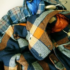nanamica×THE NORTH FACE - Harris Tweed Down Jkt