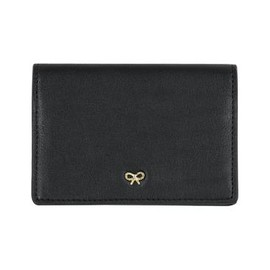 anyahindmarch - Flap Over Card Case - Coal