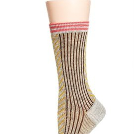 hansel from basel - jacquard v crew socks