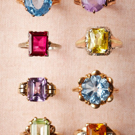 vintage - Vintage Cocktail Rings