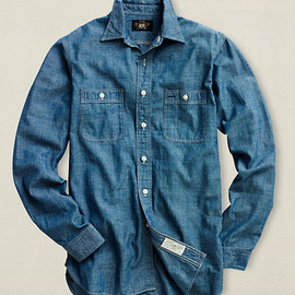 RRL - RRL Chambray Workshirt