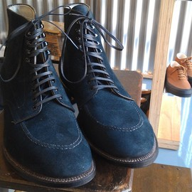 "ANATOMICA by ALDEN - INDY BOOT ""CHAMORE NAVY"""