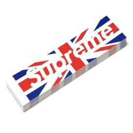 Supreme - Supreme Union Jack Box Logo Sticker