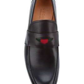 Gucci - Gucci Leather Loafer in Black for Men.