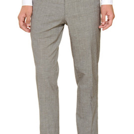 BAND OF OUTSIDERS - Gray Slim Trouser
