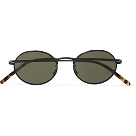 Oliver Peoples - + The Row Empire Suite round-frame matte-acetate sunglasses