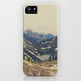 Society6 - Mountain Flowers iPhone Case