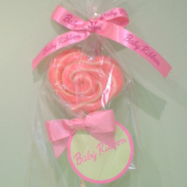 Baby Ribbon - Heart Twist Lollipop