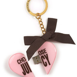 JUICY COUTURE - USB Port Key Charm