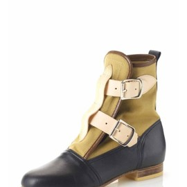 Vivienne Westwood - Seditionary Boots Tan