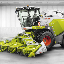 CLAAS KGaA - JAGUAR 800 Forage harvester