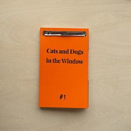 CHANTAL RENS - Cats and Dogs in the Window