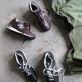 New Balance - New Balance 576 (CORDOVAN・LEATHER) M576CD コードバン BURGUNDY made in USA