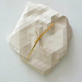 Raw Design - Faceted Wall Clock