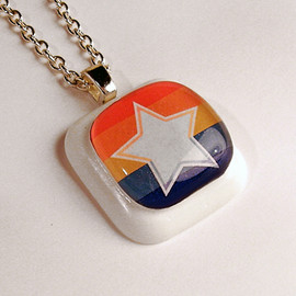 Luulla - Retro Colorful Star pendant
