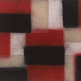 Sean Scully - Wall of Light Crimson