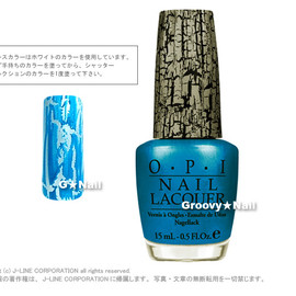 OPI - ターコイズシャッター/ SHATTER COLLECTION