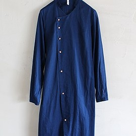 ohta - indigo long shirts
