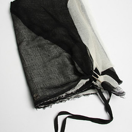 DAMIR DOMA - SPLITTED CASHMERE SCARF
