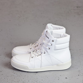 UMIT BENAN - High Top Sneakers / White