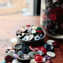 vintage - 40's-50's shell button