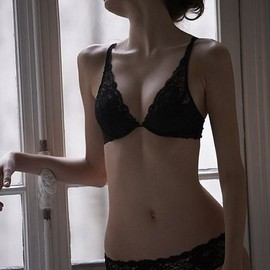stella mccartney - black underwear
