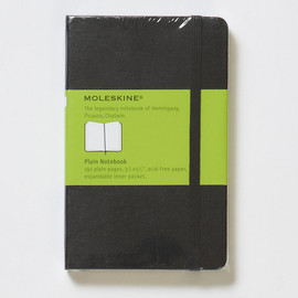 Plain Notebook  Pocket
