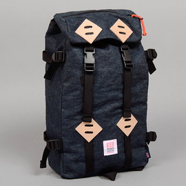 Topo Designs - TH-S & Co. Klettersack, Selvedge Hemp Blend Denim, Indigo