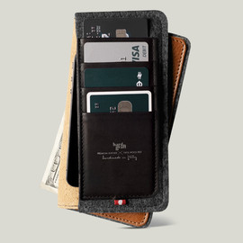 hard graft - Phone Fold Wallet Plus / Heritage