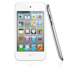Apple - iPod touch 4th (White)
