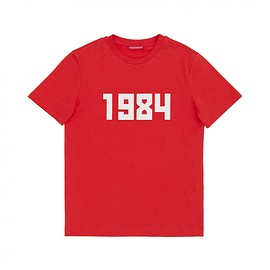 Gosha Rubchinskiy - Cotton T-Shirt 1984 Print (G008T003 RED)
