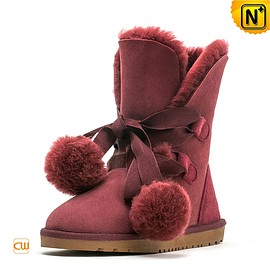 CWMALLS - Ladies Sheepskin Lined Snow Boots CW314409