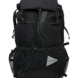 and wander - and wander/アンドワンダー 40L Back Pack