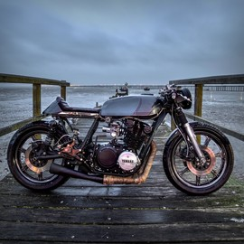 YAMAHA - XS750 by Robinson's speed shop (Robinsons speed shop)