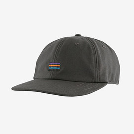 patagonia - Stand up cap - Stripes: Forge Grey (STFG)