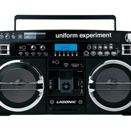 uniform experiment x LASONiC - iPod Boombox