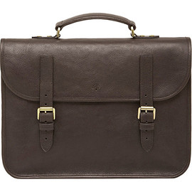 Mulberry - MULBERRY Elkington natural leather briefcase (Oak