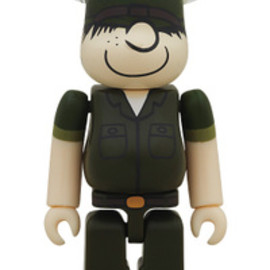 MEDICOM TOY - BE@RBRICK DRX ARMY beetle bailey 100%