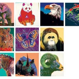 Andy Warhol - Endangered Species the complete set