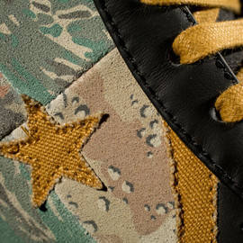 CONVERSE - Stussy x CONVERSE First String Pro Leather   Camo