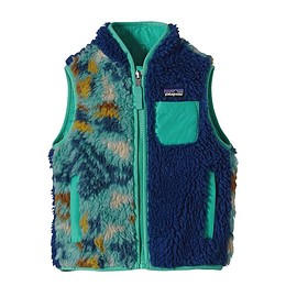 Patagonia - Patagonia Baby Retro-X Vest - Picto-Maze: Beryl Green PZBY
