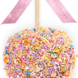 Amy's Product Description - Spring Sprinkle Caramel Apple w/ Peanuts