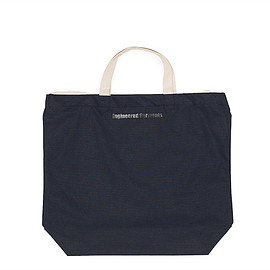 ENGINEERED GARMENTS - Carry All Tote w/Strap-Ripstop-Navy