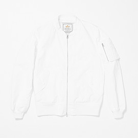 ALPHA, URBAN RESEARCH iD - MA-1 Jacket